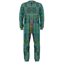 Freedom Is Every Where Just Love It Pop Art Onepiece Jumpsuit (men)