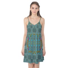 Freedom Is Every Where Just Love It Pop Art Camis Nightgown