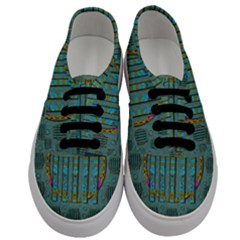 Freedom Is Every Where Just Love It Pop Art Men s Classic Low Top Sneakers