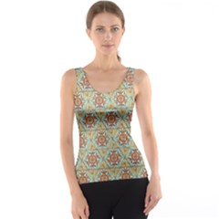 Hexagon Tile Pattern 2 Tank Top