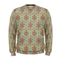 Hexagon Tile Pattern 2 Men s Sweatshirt