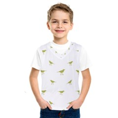 Birds Motif Pattern Kids  Sportswear