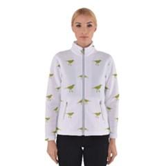 Birds Motif Pattern Winterwear
