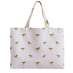 Birds Motif Pattern Medium Tote Bag