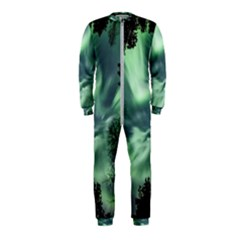 Northern Lights In The Forest Onepiece Jumpsuit (kids)
