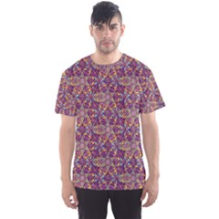 Flower Kaleidoscope 2 01 Men s Sports Mesh Tee
