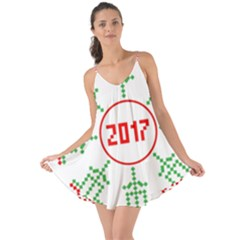 Snowflake Graphics Date Year Love The Sun Cover Up