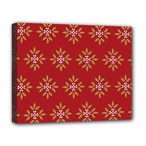 Pattern Background Holiday Deluxe Canvas 20  X 16