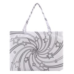 Star Christmas Pattern Texture Medium Tote Bag