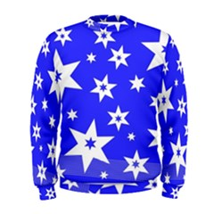 Star Background Pattern Advent Men s Sweatshirt