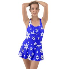 Star Background Pattern Advent Swimsuit
