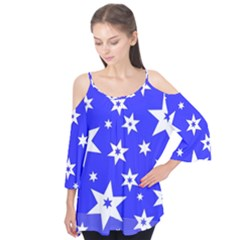 Star Background Pattern Advent Flutter Tees