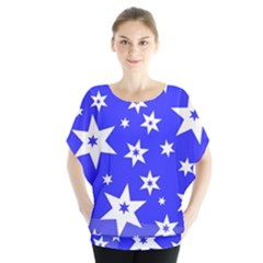 Star Background Pattern Advent Blouse