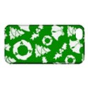 Green White Backdrop Background Card Christmas Apple iPhone 5C Hardshell Case View1