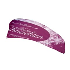 Christmas Card Red Snowflakes Stretchable Headband