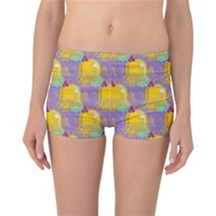 Seamless Repeat Repeating Pattern Reversible Boyleg Bikini Bottoms