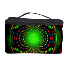 Christmas Ornament Fractal Cosmetic Storage Case