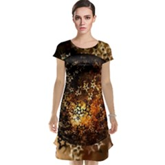 Christmas Bauble Ball About Star Cap Sleeve Nightdress