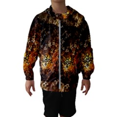 Christmas Bauble Ball About Star Hooded Wind Breaker (kids)