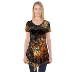 Christmas Bauble Ball About Star Short Sleeve Tunic