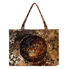 Christmas Bauble Ball About Star Medium Tote Bag