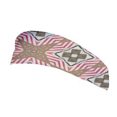 Pattern Texture Moroccan Print Stretchable Headband