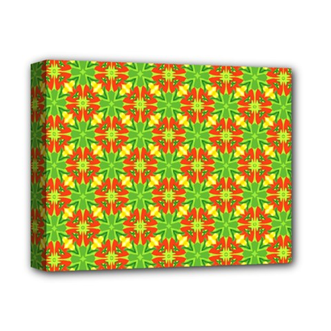 Pattern Texture Christmas Colors Deluxe Canvas 14  X 11