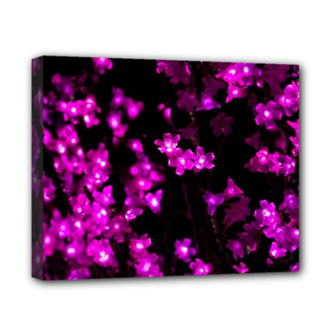 Abstract Background Purple Bright Canvas 10  X 8