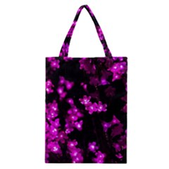 Abstract Background Purple Bright Classic Tote Bag