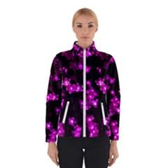 Abstract Background Purple Bright Winterwear