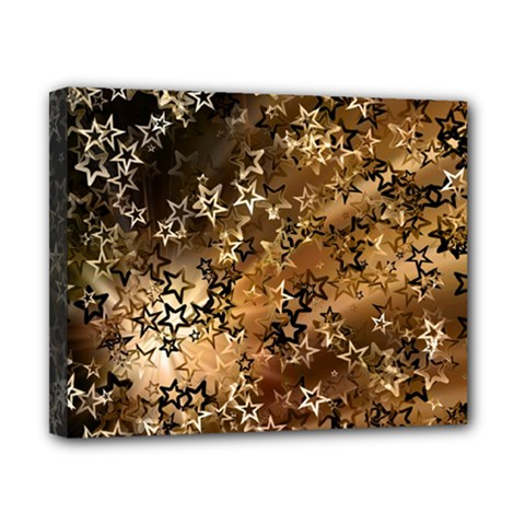 Star Sky Graphic Night Background Canvas 10  X 8