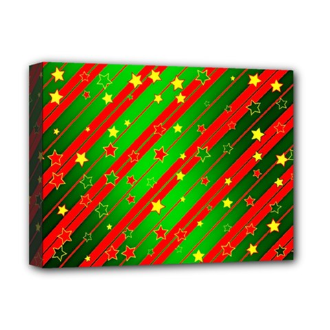 Star Sky Graphic Night Background Deluxe Canvas 16  X 12