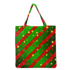 Star Sky Graphic Night Background Grocery Tote Bag