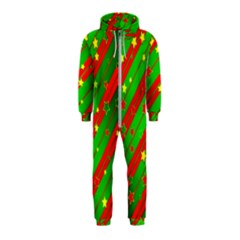 Star Sky Graphic Night Background Hooded Jumpsuit (kids)