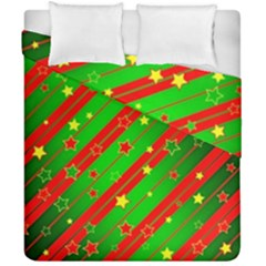 Star Sky Graphic Night Background Duvet Cover Double Side (california King Size)