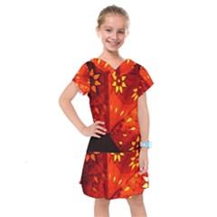 Star Light Christmas Romantic Hell Kids  Drop Waist Dress