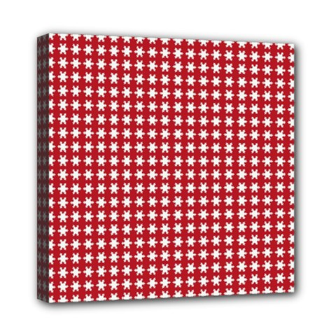 Christmas Paper Wrapping Paper Mini Canvas 8  X 8