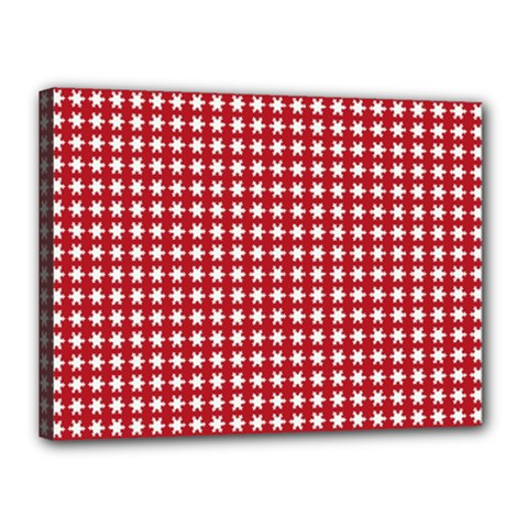 Christmas Paper Wrapping Paper Canvas 16  X 12
