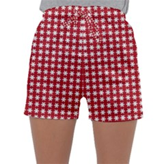 Christmas Paper Wrapping Paper Sleepwear Shorts
