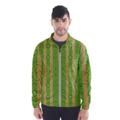 Seamless Tileable Pattern Design Wind Breaker (men)