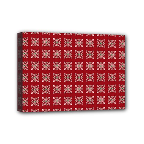 Christmas Paper Wrapping Paper Mini Canvas 7  X 5