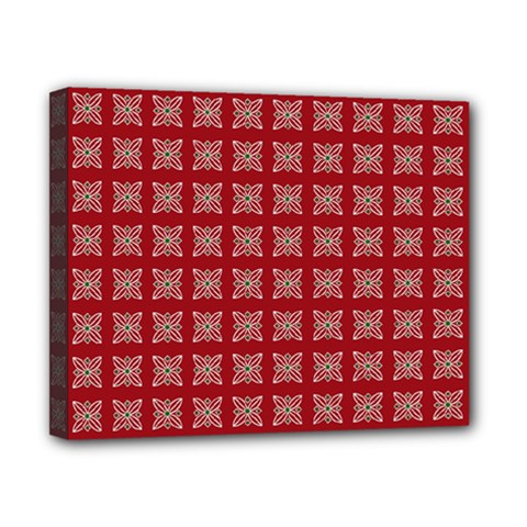 Christmas Paper Wrapping Paper Canvas 10  X 8