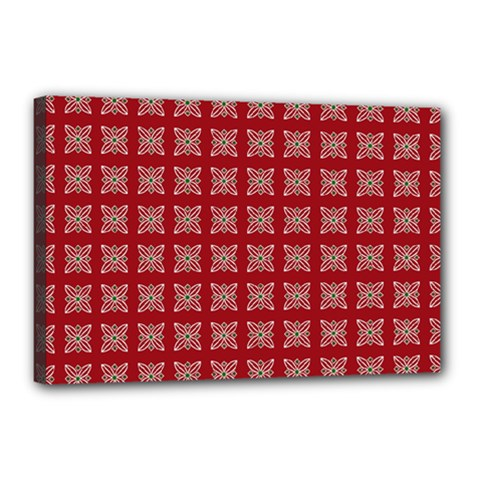 Christmas Paper Wrapping Paper Canvas 18  X 12