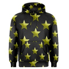 Stars Backgrounds Patterns Shapes Men s Pullover Hoodie