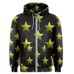 Stars Backgrounds Patterns Shapes Men s Zipper Hoodie