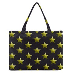 Stars Backgrounds Patterns Shapes Zipper Medium Tote Bag