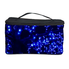Lights Blue Tree Night Glow Cosmetic Storage Case