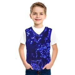 Lights Blue Tree Night Glow Kids  Sportswear