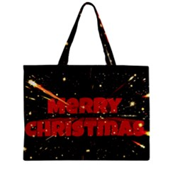 Star Sky Graphic Night Background Zipper Mini Tote Bag