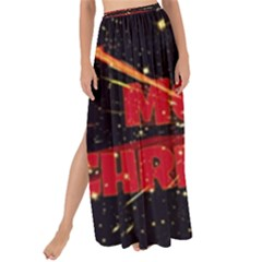 Star Sky Graphic Night Background Maxi Chiffon Tie Up Sarong
